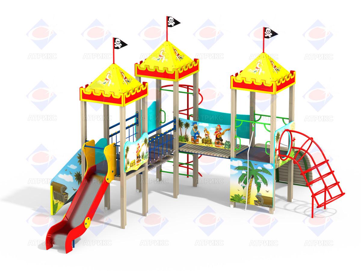 ДИК 3.115 - Детский игровой комплекс Пираты Н=1200
